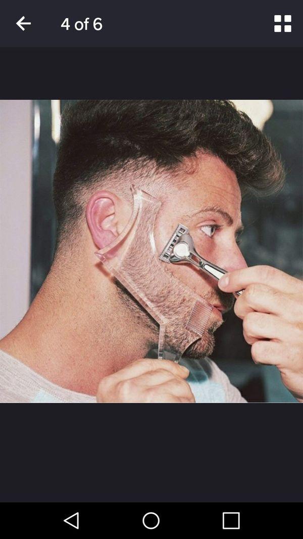 Mens Beard Shaper Tool With Comb