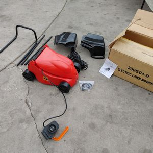 Brand New Electric Lawn Mower In Good Condition Complete. Needs Assemble. for Sale in Alhambra, CA