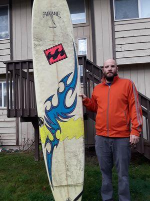 9ft surf board surfboard longboard Aikane for Sale in Puyallup, WA