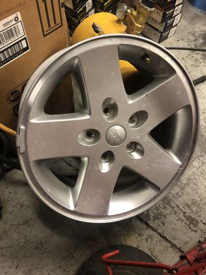Jeep wrangler wheels 17 inch for Sale in North Las Vegas, NV