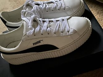 Puma Creeper Rihanna Fenty Leather White Size 10 for Sale in Atlanta,  GA