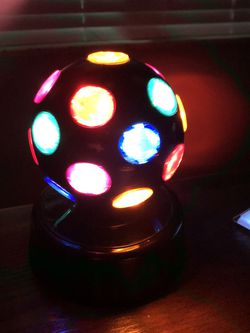 Spiny Glowing Multi Colored Plug In Discoball for Sale in Fort Myers,  FL