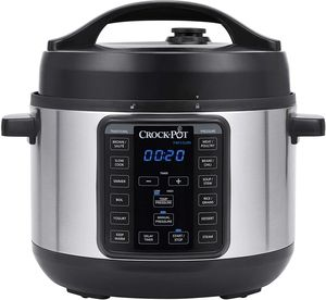 Crock-Pot 4qt Express Crock Multi-Cooker - Stainless Steel for Sale in Chicago, IL