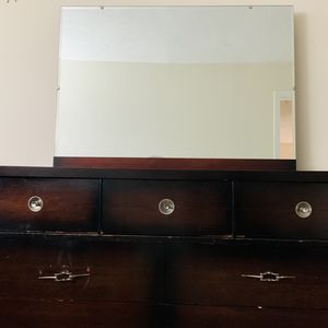 Dresser with Mirror - FREE for Sale in Norwood, MA