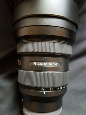 Sony 12-24 GM 2.8 for Sale in Portland, OR