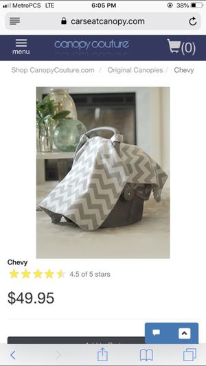 Car seat canopy for Sale in Omaha, NE