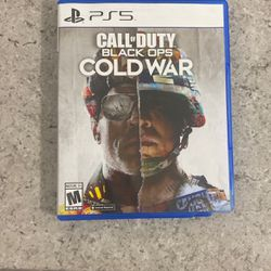 Ps5 Cold War Call Of Duty for Sale in Kent,  WA