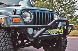 2000🍀Jeep Wrangler TJ Lifted🍀Loaded 4WD No Issues-For Sale!!!-$1000 for Sale in Aurora, CO