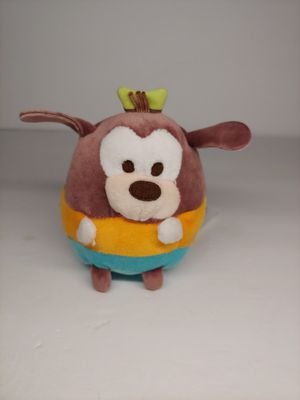 "DISNEY STORE GOOFY UFUFY PLUSH SMALL 4 1/2"" APPLE BLOSSOM SCENTED SITS UPRIGHT for Sale in Santa Ana, CA"