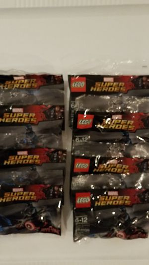 Lego Captain Americas Motorcycle- lot of 8 for Sale in Hillsboro Beach, FL