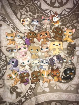 Littlest pet shop authentic 28 pets good condition for Sale in Orlando, FL