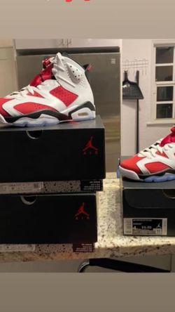 Jordan 6 Carmine for Sale in Miami,  FL