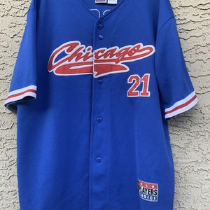 Rare Chicago Cubs Jersey Sammy Sosa #21 Baseball MLB Players Choice Size XL for Sale in Chandler, AZ