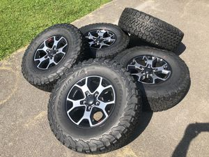2018 Jeep Rubicon Wheels (Just Rims) (Brand New) for Sale in Portland, OR