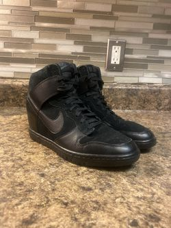 Nike Dunk Sky Hi Wedge Heel Wmns Sz 10 for Sale in Alexandria,  VA