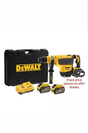 "DeWalt DCH733X2 Flexvolt 60V MAX 1-7/8"" SDS MAX Rotary Hammer Kit for Sale in Upper Marlboro, MD"