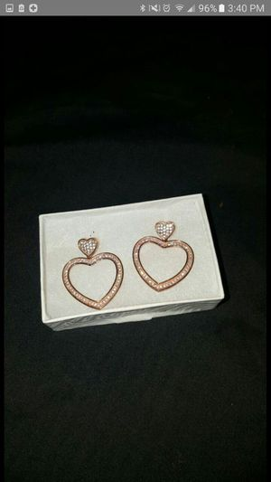Rose Gold Diamond Earrings for Sale in Silver Spring, MD