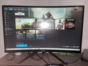 "24"" Viotek Curved Gaming Monitor 144hz for Sale in Tampa, FL"