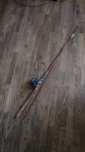 Penn Delmar # 285 Reel /fiberglass pole for Sale in Wenatchee, WA