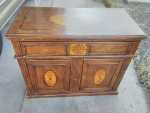 Vintage ornate Hall cabinet for Sale in Phoenix, AZ