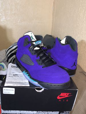 Nike Air Jordan 5 V Alternate Grape Size 10.5 Brand New 100% Authentic With Receipt for Sale in New York, NY