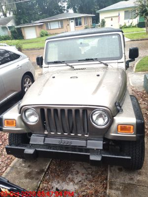 jeep wrangler SE 2004 (TJ) Automatic for Sale in Belle Isle, FL