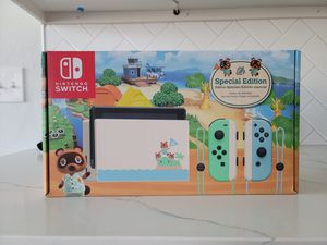 Animal Crossing Nintendo Switch Console Limited Edition for Sale in Beaumont, TX