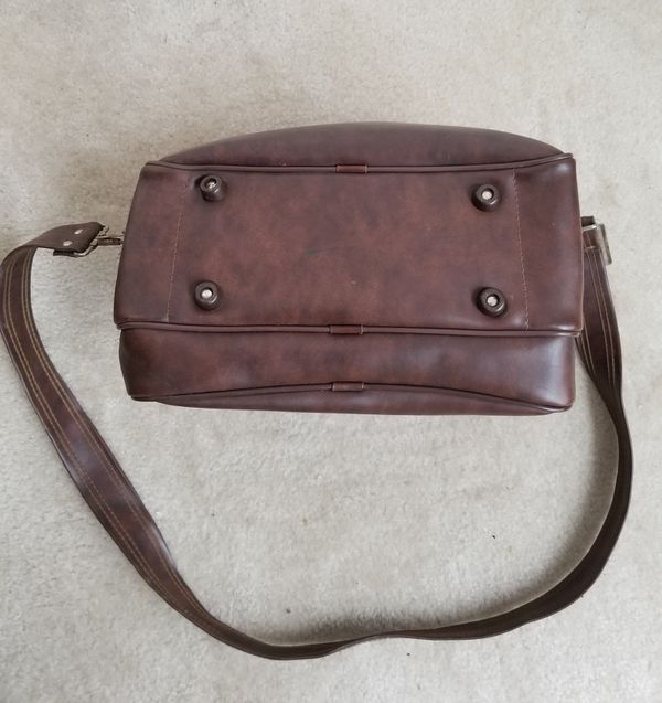 Vintage Two Compartment Camera Bag