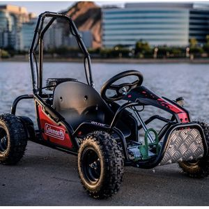 Coleman Powersports 100cc Gas Powered Go Kart - Red and Black for Sale in Dallas, TX