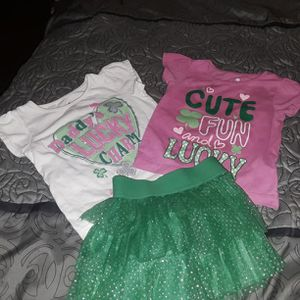 Baby Girl St Patty's Day outfit for Sale in Tampa, FL