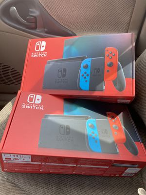 Nintendo switch brand new unopened for Sale in Washington, DC