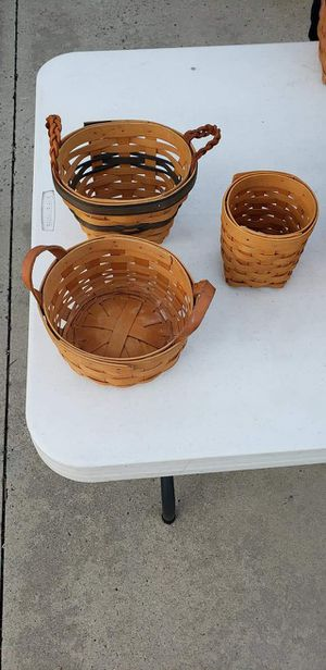 Longaberger baskets for Sale in Anaheim, CA