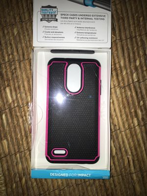 Phone cover high impact for LG Aristo for Sale in Miami, FL