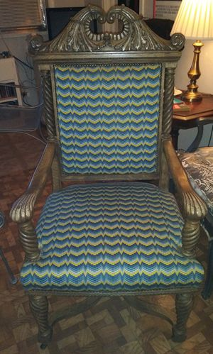 Antique Mission Oak L.R. Arm Chair for Sale in Lake Worth, FL