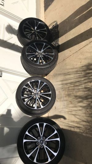 Toyota rims/tires 5x114 for Sale in Lancaster, PA