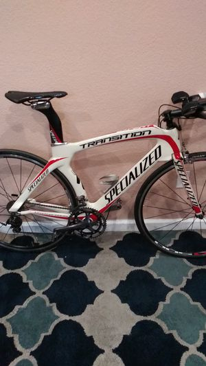 TT. Road Bike. SPECIALIZED. TRANSITION. for Sale in North Las Vegas, NV