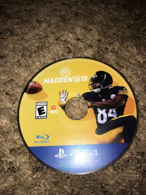MADDEN 19 PS4 ON SALE!! for Sale in Norco, CA