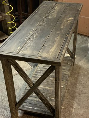 Farmhouse entryway/hallway/sofa Table for Sale in Lilburn, GA