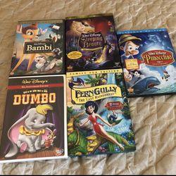 Lot Of 5 Disney DVD for Sale in Renton,  WA