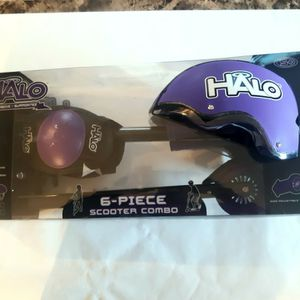 NEW HALO RISE ABOVE 6 PIECE INLINE SCOOTER COMBO SET for Ages 5+ for Sale in Hartford, CT