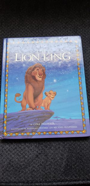 The lion king book for Sale in South Burlington, VT