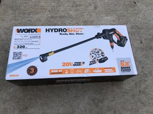WORX WG625 20V Hydroshot Cordless Pressure Washer for Sale in Dallas, TX