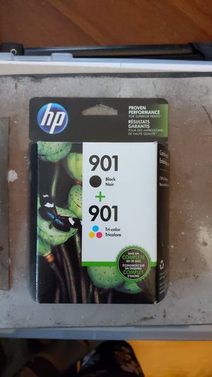HP Ink 901 B + Tri-color for Sale in Vacaville, CA