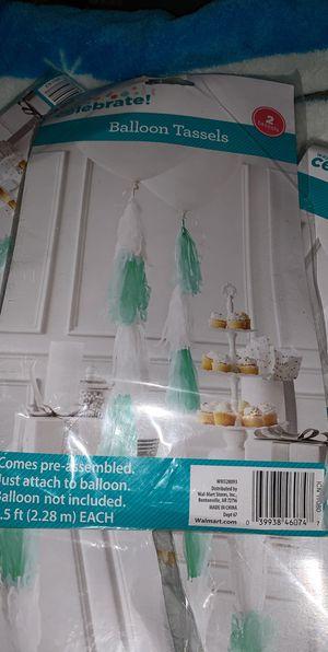 Balloon tassels for Sale in Burlington, WA