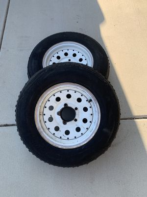 """Set of 2 - 13"""" trailer rims for Sale in Fontana, CA"""