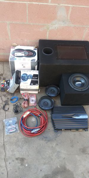 Car stereo system for Sale in Whittier, CA