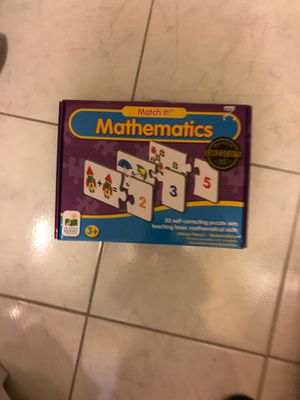 30 cards mathematics game for kids age 3 +. for Sale in Concord, CA