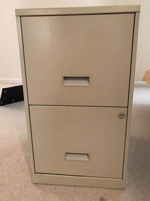 2 Drawer file cabinet for Sale in Sterling, VA
