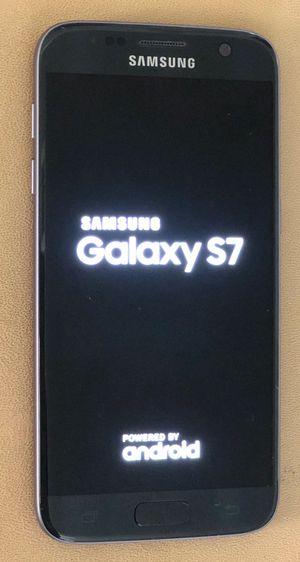 SAMSUNG GALAXY S7 32GB -BLACK $100 for Sale in Santa Ana, CA