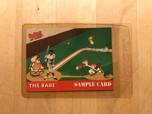 Babe Ruth and popeye vintage collectible card for Sale in Los Angeles, CA